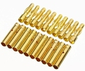 Goldplug 4mm gold verbinders male+female SET 10 paar 40002 Envelop