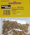 Aeronaut Ankerketting Steg 6,3x3,7x1,0mm 1m 5627-30