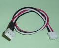 Balanceer Verleng Kabel 20cm XH 2S-3P LiPo, AM12032S Envelop