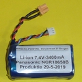 Accu 7,4V Li-Ion 3400mAh XT30  Huina 1580 and 1583  Envelop