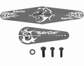 Savöx SH-80 Servo Hevel SET ALU Double 76mm, single 38mm Envelop