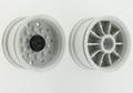 Carson 907154 Oplegger velg brede band licht grijs 2x