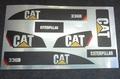 CAT 336D Sticker Decal Huina 1580 RC Excavator Envelop