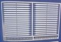 Aeronaut 5602/95  Reling staanders plat 2b 25,5mm hoog 32st
