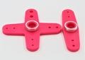 Futaba 56005101 servohevel dubbel en kruis 44mm 2st Pink Envelop