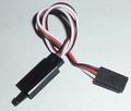 Servo verlengkabel 5x 15cm  FUTABA 3x0,35mm2 LOCK 9-2001-6  Envelop