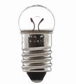 Lamp E10 fitting schroeflamp 6V 0,3Amp 1,8W wit licht 1x