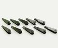 Kwiklink Gaffelkop M2  Verenstaal zwart klein 18,5mm 10stuks