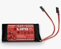 Graupner BT8083 Zenderaccu Plat HV LiPo 1S2P 3.8V 5000mAh Pakket