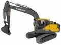 Volvo EC160E 1:14 hydraulic RC excavator Yellow 2,4GHz RTR